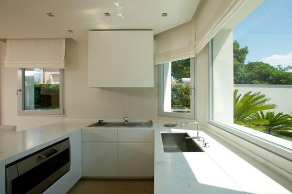 Finestre in alluminio for Vetrate case moderne
